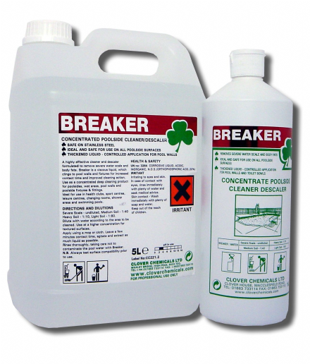 Clover Breaker - Concentrated Poolside Cleaner & Descaler
